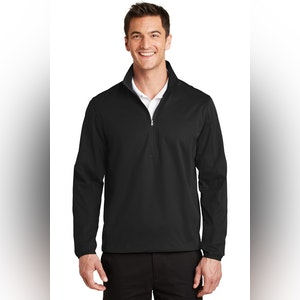 Port Authority Active 1/2-Zip Soft Shell Jacket. J716