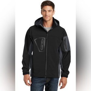 Port Authority Waterproof Soft Shell Jacket.  J798