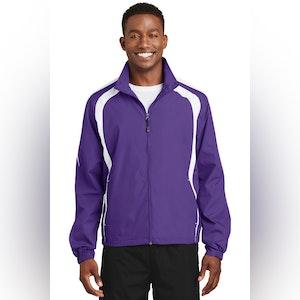 Sport-Tek Colorblock Raglan Jacket. JST60
