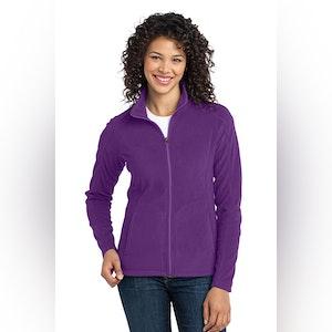 Port Authority Ladies Microfleece Jacket. L223