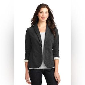 Port Authority Ladies Fleece Blazer. L298