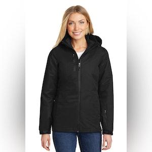 Port Authority Ladies Vortex Waterproof 3-in-1 Jacket. L332