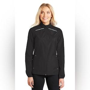 Port Authority Ladies Zephyr Reflective Hit Full-Zip Jacket. L345
