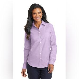 Port Authority Ladies SuperPro Oxford Shirt. L658