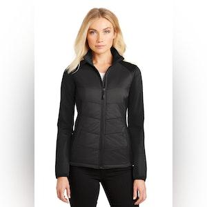 Port Authority Ladies Hybrid Soft Shell Jacket. L787