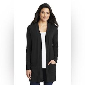 Port Authority  Ladies Concept Long Pocket Cardigan . LK5434