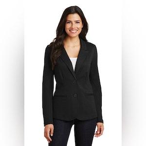 Port Authority Ladies Knit Blazer. LM2000