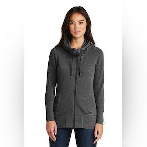 New Era  Ladies Tri-Blend Fleece Full-Zip Hoodie. LNEA511