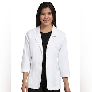 Med Couture Professional Consultation Lab Coat.  9618