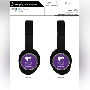 Beebop Wireless Headphones.  BEEBOP