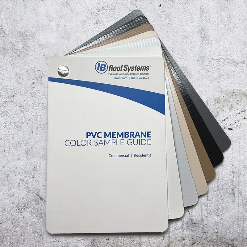 Membrane Sample Color Book
