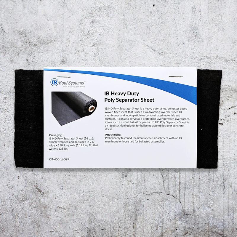 Poly Separator Sheet Sample
