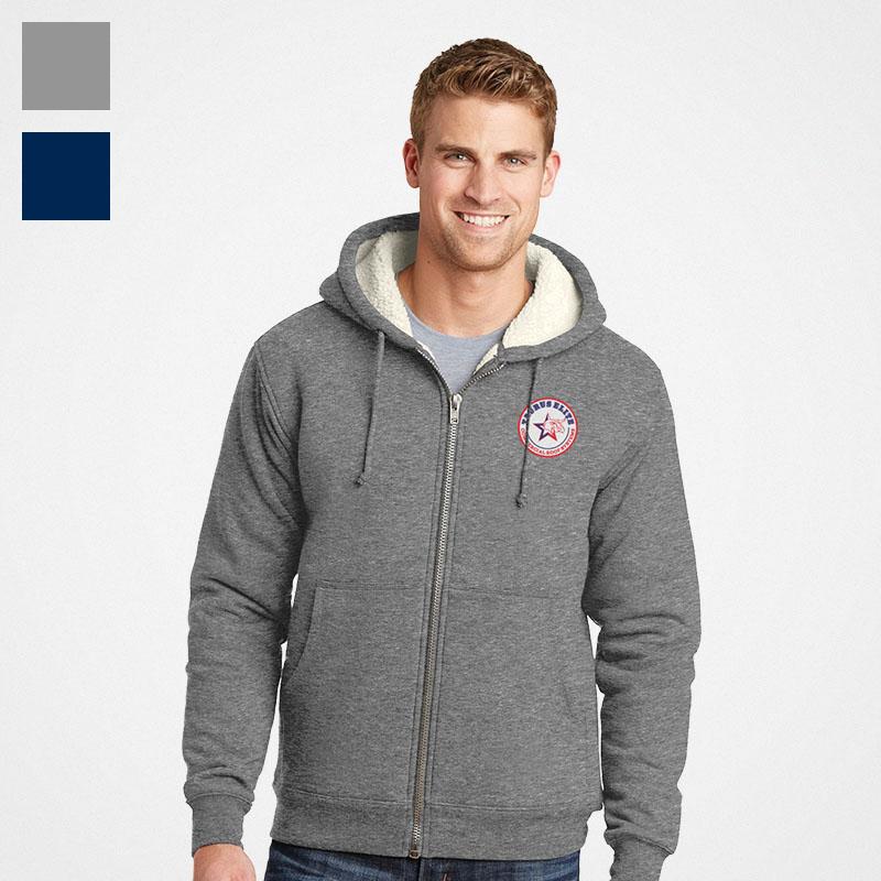 CornerStone Heavyweight Hooded Fleece Jacket