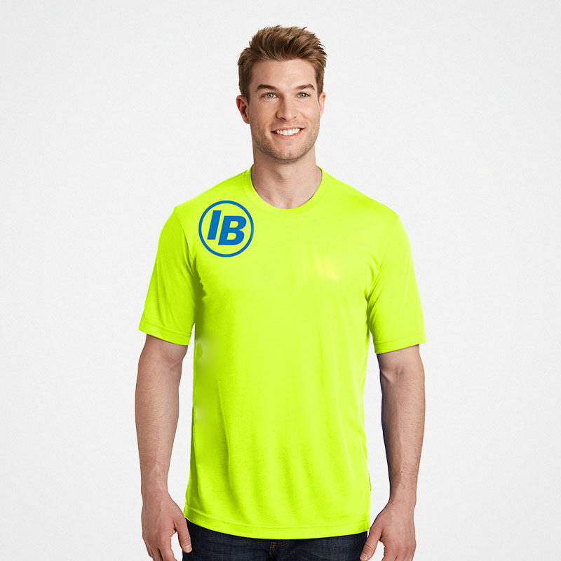 Port & Company Safety Green S/S T-Shirt