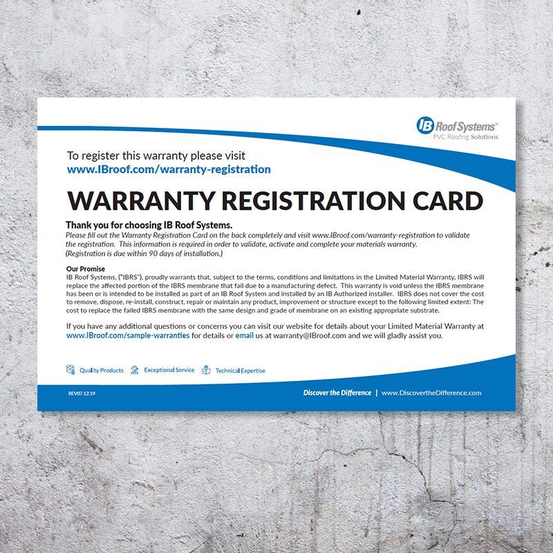 Limited Residential / Commercial / DeckShield Warranty