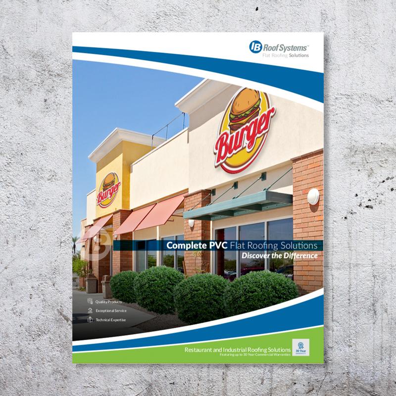 Restaurant PVC Brochure