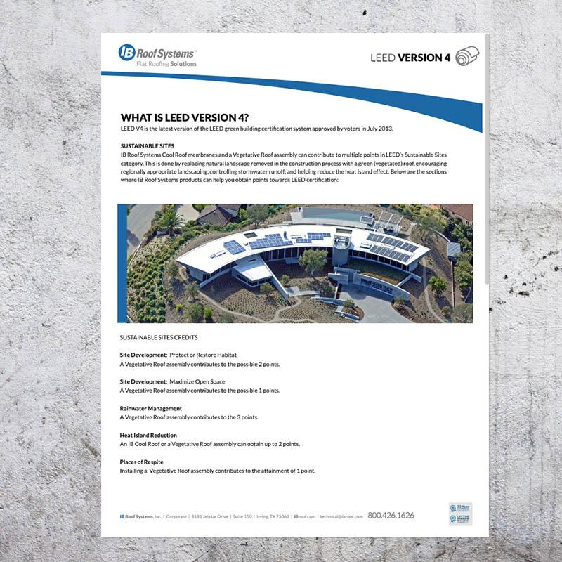 LEED Version 4 Brochure