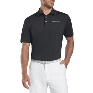 Peter Millar Solid Stretch Jersey Polo Self Collar