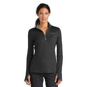 Nike Ladies Dri-FIT Stretch 1/2-Zip Cover-Up