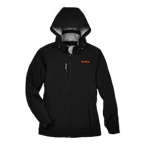 North End Ladies Glacier Three-Layer Soft Shell Jacket w/Detachable Hood