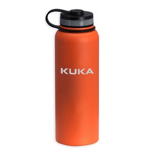 40 Oz Matted Finish Insulated Stainless Steel Bottle