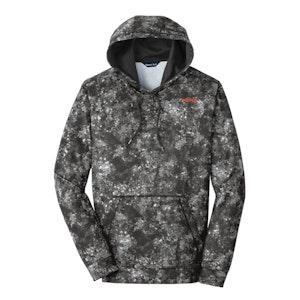 Sport-Tek Sport-Wick Mineral Freeze Fleece Hooded Pullover