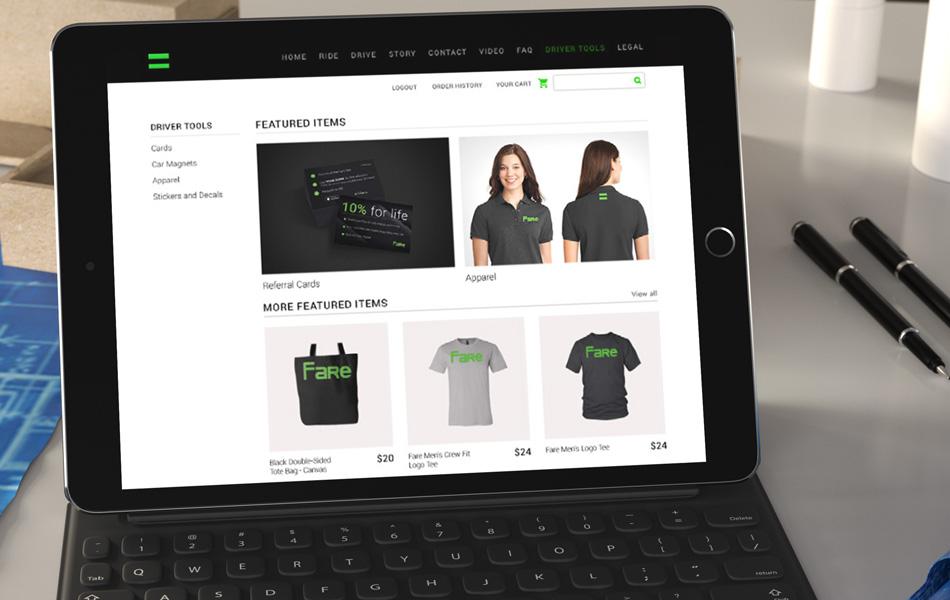 Nebula demo site design