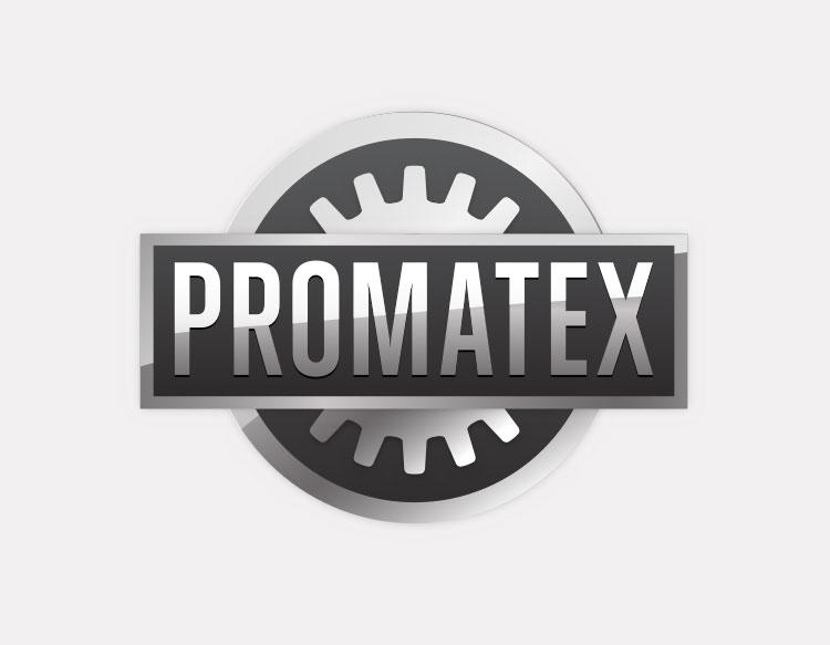 Promatex logo (metal manufacturing)