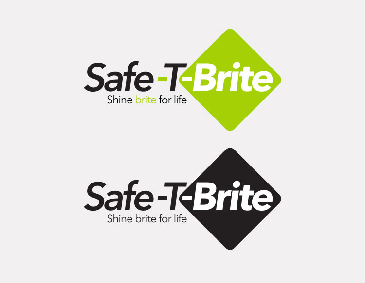 Safe-T-Brite headlamp logo