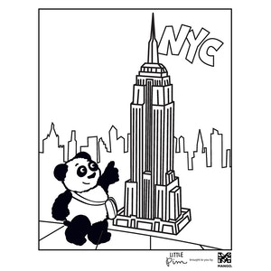 Coloring Sheet - Little Pim: Empire State