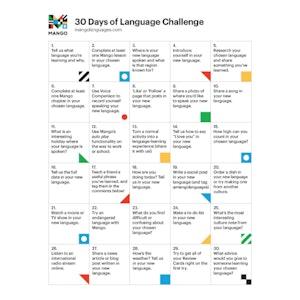 30 Days of Language Challenge