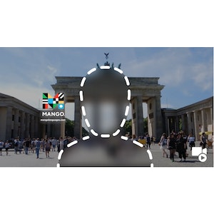 Mango Zoom Video Background - Brandenburg Gate