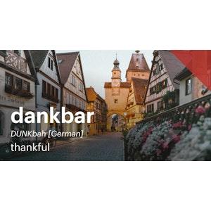 Thankful | German Post | Twitter