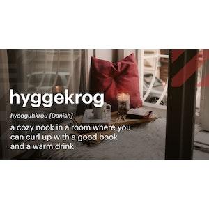 Words | Hyggekrog (Danish) | Twitter