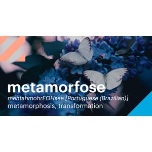 Words | metamorfose (Brazilian Portuguese) | Twitter