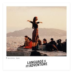 Language is an Adventure | Barcelona | Instagram