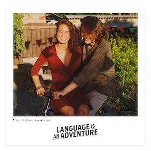 Language is an Adventure | Kazakhstan | Instagram