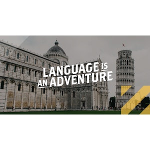 Italian Themed Social 2021 | Language is an Adventure | Facebook + Twitter