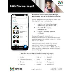 Little Pim on Mobile Flyer