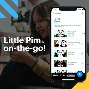 Little Pim on-the-go!  Instagram