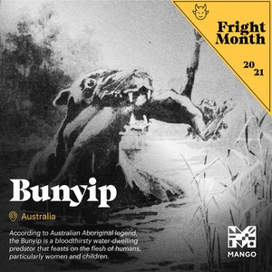 Fright Month - Bunyip | Facebook + Instagram