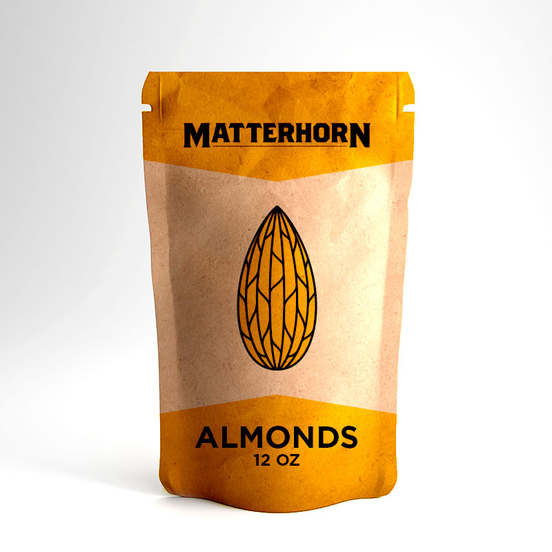 Matterhorn Almonds – 12 Oz.