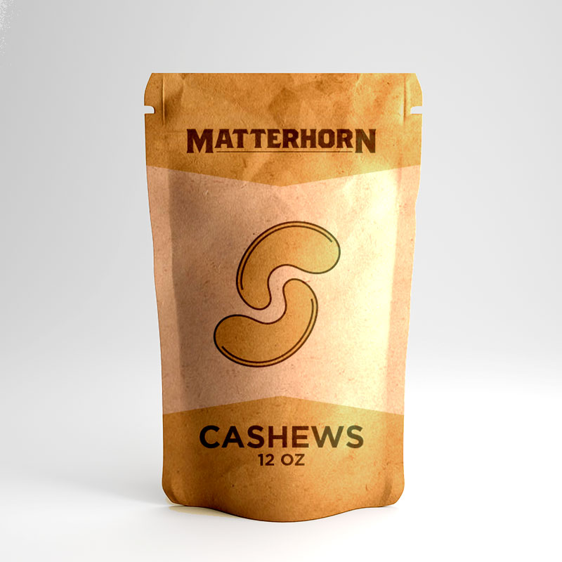 Matterhorn Cashews - 12 Oz.
