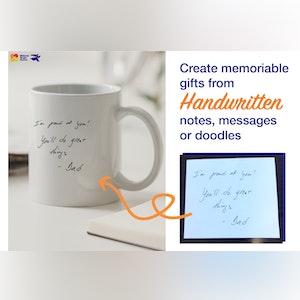 Personalized Ceramic Coffee Mug.  MAXMUG