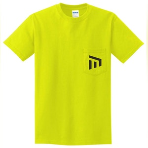MCP Yellow T-Shirt with Front Pocket