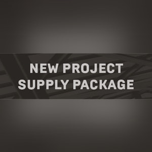 New Project Supply Package