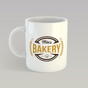 Mia's Bakery Mug