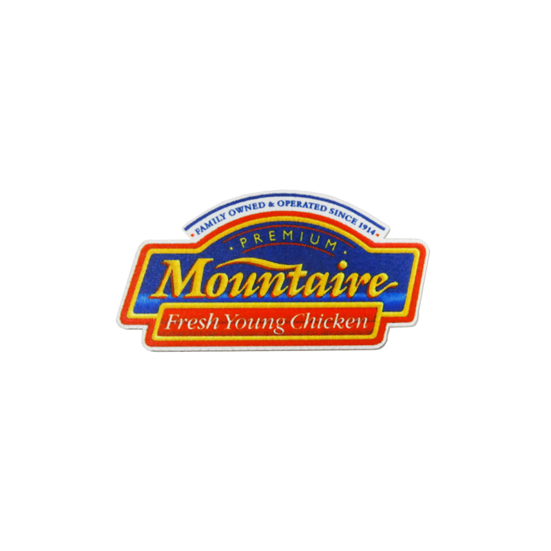 Mountaire Printed Patch - Red, Blue, & Yellow