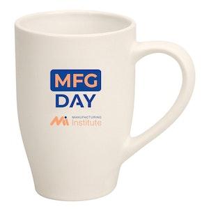 Two-Tone/White Matte Mug