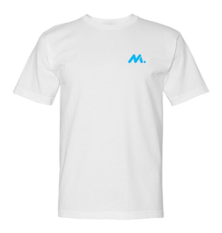 USA-Made 5.4 Oz. 100% Cotton T-Shirt (Men's) -